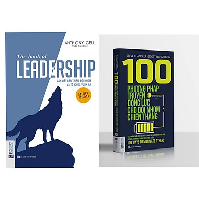 Combo 2 cuốn tư duy lãnh đạo: 100 phương pháp truyền động lực cho đội nhóm + Leadship dẫn dắt bản thân đội nhóm và tổ chức vươn xa ( tặng 1 giá đỡ iring cute)
