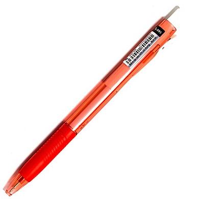 Bộ 3 Bút Bi Laris TL-095 - Mực Đỏ