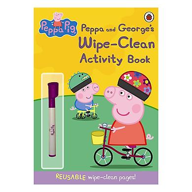 Peppa Pig: Peppa and George's Wipe-Clean Activity Book - Peppa Pig (Paperback)