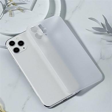Ốp lưng lụa siêu mỏng 0.4mm không bám vân tay cho Apple iPhone 11 Pro 5.8 Benks Magic Lollioop - Hàng nhập khẩu
