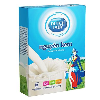 Sữa Bột Nguyên Kem Dutch Lady Hộp Giấy (400g)