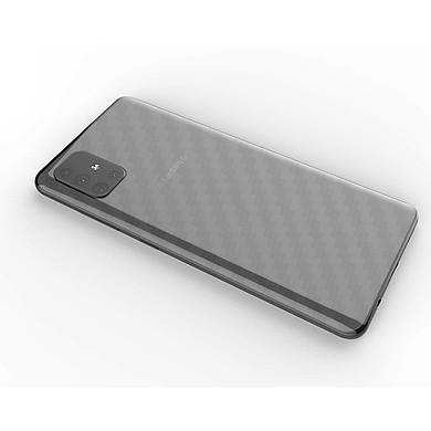 Miếng Dán Mặt Lưng Cacbon Dành Cho Samsung Galaxy A51 - Handtown - Hàng Chính Hãng