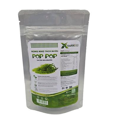 Rong nho tách nước POP POP 100 g (túi zipper)
