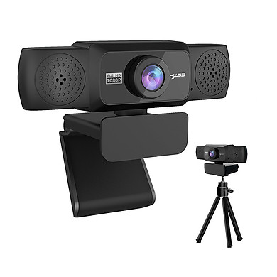 HXSJ S5 HD 1080P Computer Camera Built-in 8m Sound-absorbing Microphone Web Camera with Adjustable Degrees for Laptop
