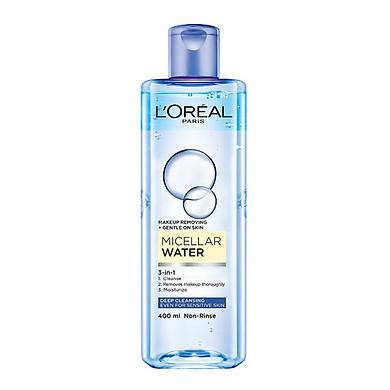 Nước tẩy trang Loreal Loreal Micellar Water 3-in-1 Deep Cleansing Even For Sensitive Skin