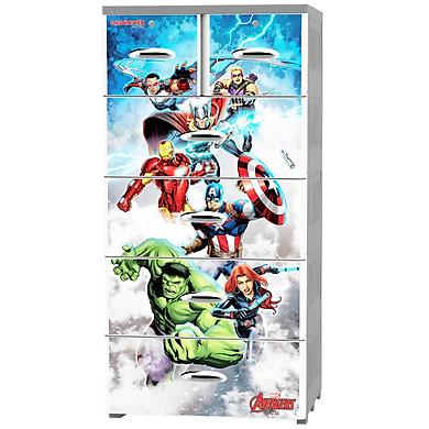 Tủ nhựa Đại Đồng Tiến Fairy Avengers A1701