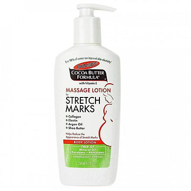 Lotion ngăn ngừa & giảm rạn da Cocoa Butter Formula Massage Lotion Stretch Marks - Palmer's (250ml)