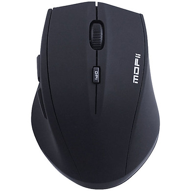 Mofii G52S Wireless Silent Mouse Office Mouse Notebook Desktop Computer Ergonomic Portable Mouse Black Self-operated