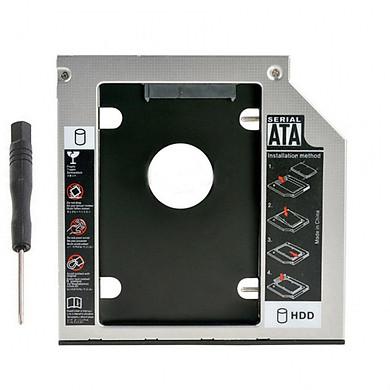 Khay Ổ Cứng Caddy Bay SATA 12.7mm Dày (Gắn Thêm Ổ Cứng Cho Laptop)