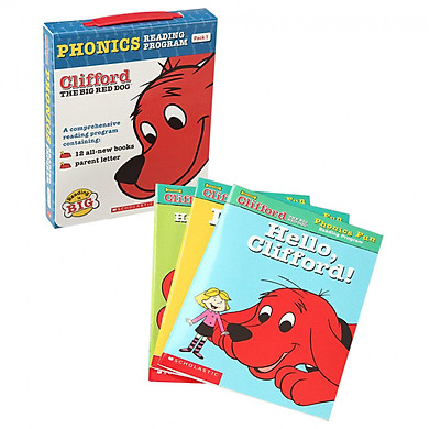Clifford Phonics Fun Pack 1 - Paperback