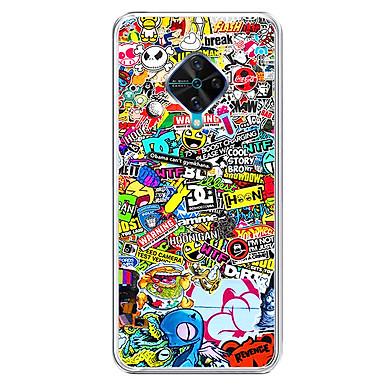 Ốp lưng điện thoại Vivo S1 PRO - Silicon dẻo - 0077 WARNING01 - Hàng Chính Hãng