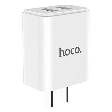 Củ Sạc Hoco C62 5V / 2.1A / 3C / 2 Cổng - Chính Hãng PVN103