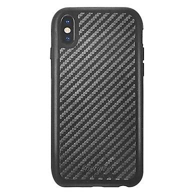 Ốp Lưng Carbon Energizer Chống Sốc 3m Cho iPhone X ENCOUL3MIP8CB - Hàng Chính Hãng (Đen)