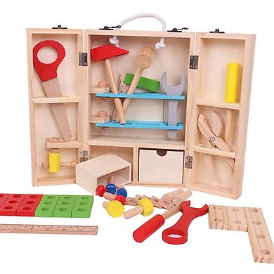 Đồ chơi gỗ bộ dụng cụ sửa chữa kỹ thuật