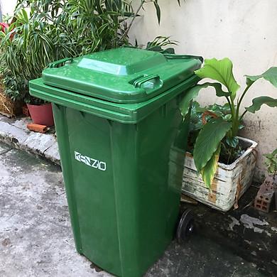 Thùng rác Công Cộng 240L - Loại Dày 15 kg