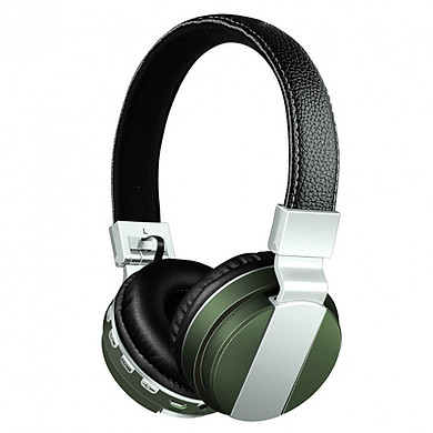 Tai nghe chụp tai Bluetooth bằng da bali-v68