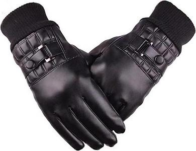 Găng tay phượt thủ nam lót lông cảm ứng chống nước DCLD01