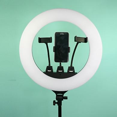 SLPR480 | Đèn Livestream Led Ring có cổng USB 18inch 80w / HÀNG CHÍNH HÃNG