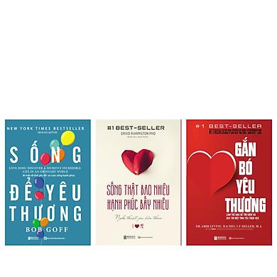 Combo bộ 3 cuốn Sống thật bao nhiêu, hạnh phúc bấy nhiêu TV