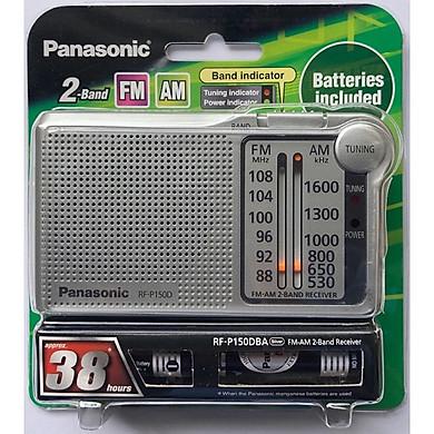 Đài Radio FM/AM Panasonic RF - P150DBAGA Kèm Pin Chính Hãng