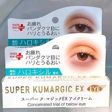 Kem Chống Thâm, Chống Nhăn, Chống Bọng Mắt SUPER KUMARGIC EX Nhật Bản (20g)