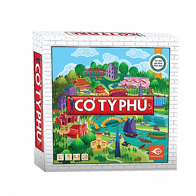 Cờ Tỷ Phú Việt Nam - Trò chơi gia đình rèn luyện tư duy tài chính hay nhất mọi thời đại
