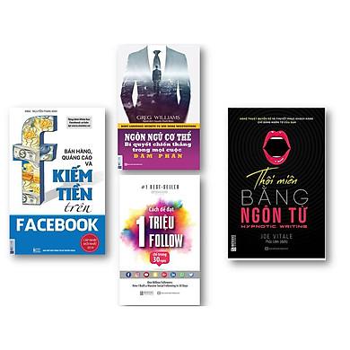 Bộ Sách  Kinh Doanh Trực Tuyến Thời 4.0 ( Bán hàng, quảng cáo và kiếm tiền trên Facebook , Thôi miên bằng ngôn từ, Cách Để Đạt 1 Triệu Follow Chỉ Trong 30 Ngày , Ngôn ngữ cơ thể – bí quyết chiến thắng trong mọi cuộc đàm phán kt)