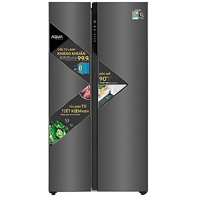 Tủ lạnh Aqua Inverter 541L AQR-S541XA(BL) – Chỉ Giao tại HCM