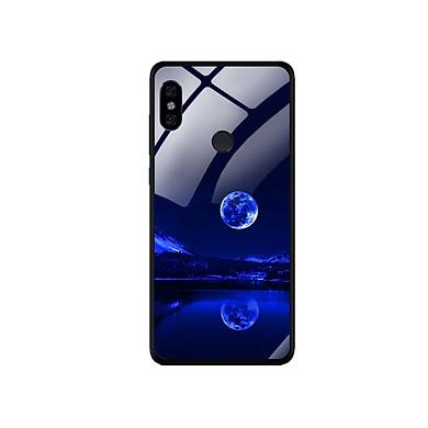 Ốp Lưng Kính Cường Lực cho điện thoại Xiaomi Redmi Note 5 - 0269 MOON02
