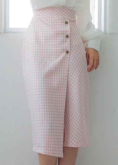 Chân Váy Button Pencil Skirt KIV180501