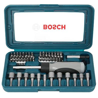 Bộ Bặn Vít Đa Năng Bosch 46 món – Giao màu ngẫu nhiên