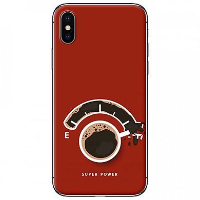 Ốp lưng dành cho iPhone XS Max mẫu  Café EF