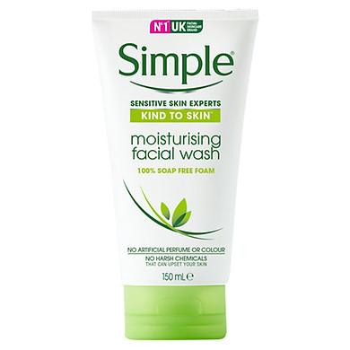 Sữa Rửa Mặt Dưỡng Ẩm Simple Moisturising Facial Wash (150ml) - 5011451103870