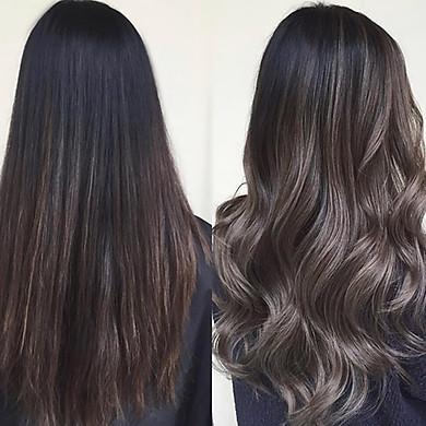 Combo Cắt + Uốn (Loreal) + Nhuộm (Davines, Revlon, Prosee) + Phục Hồi Collagen Dành Cho Nữ Tại Salon Top Hair Việt Nam