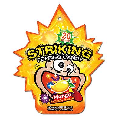 Combo 12 gói Kẹo nổ Striking Mango 30gr (Vị Xoài)