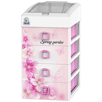 Tủ Nhựa Mini Đại Đồng Tiến Tiny T1622 Spring Garden