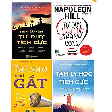 Combo 4 Cuốn Sách Mang Đến Tư Duy Tích Cực Cho Bạn