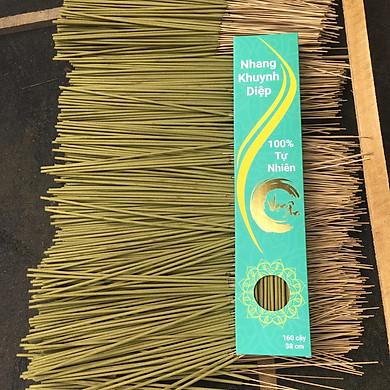 Nhang sạch lá khuynh diệp 160 cây 38cm