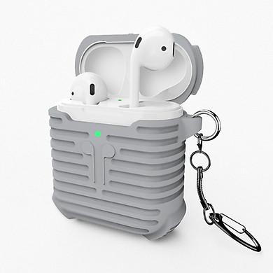 Bao case silicon chống sốc cho tai nghe Apple Airpods 2 wireless hộp sạc không dây hiệu Coteetci(bảo vệ toàn diện, chất liệu cao cấp) - Hàng nhập khẩu
