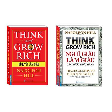 Combo Bí Quyết Làm Giàu,Nghĩ giàu và làm giàu các bước thực hành