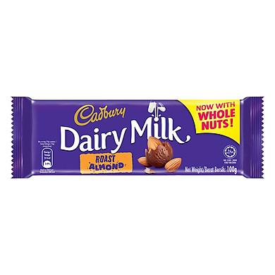 Sô-Cô-La Hạnh Nhân Cadbury Dairy Milk (100g)