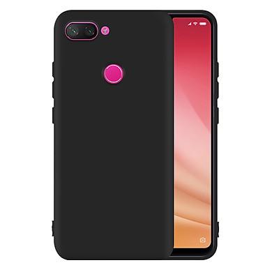 Ốp Lưng Cho Xiaomi Mi 8 Lite Nhựa Dẻo TPU Đen