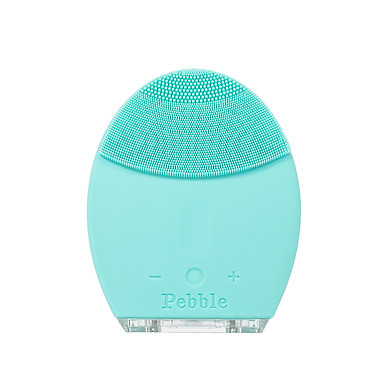 Máy rửa mặt Silicon Pebble Lisa face washing machine (Tiffany Blue) Gen 5