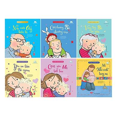 Combo 6 quyển chuyện kể cho bé : Cả nhà thương nhau