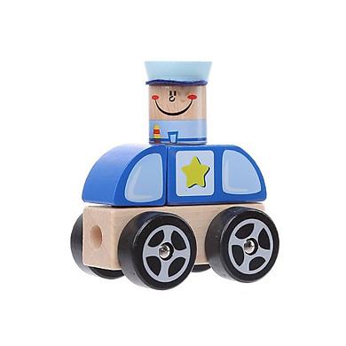 Đồ chơi gỗ Miniso xe người hùng 208g - Hàng chính hãng