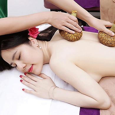 Massage Body Thảo Dược Gừng Thư Giãn Toàn Thân Tại An An Spa