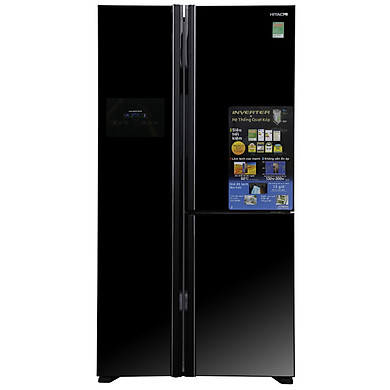 Tủ lạnh 3 cánh SBS HITACHI R-FM800PGV2 (GBK) - 600 Lít (HÀNG CHÍNH HÃNG)