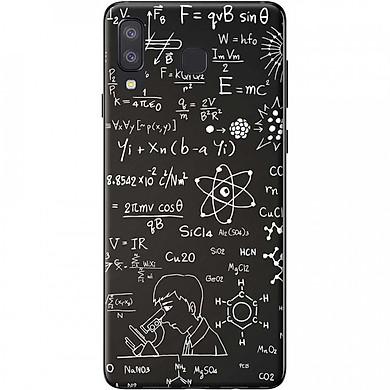 Ốp lưng dành cho Samsung Galaxy A8 Star mẫu Hóa học