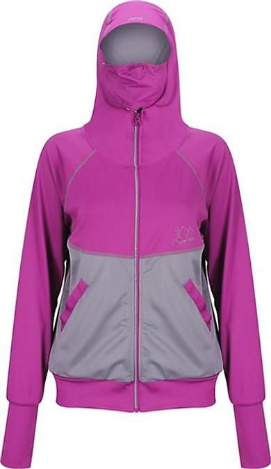 Áo khoác nữ 4 trong 1 chống nắng UPF50+ tím xám Zigzag JAC00103