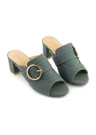 Guốc da thời trang êm chân SUNDAY GG09